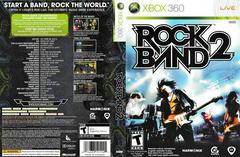 Artwork - Back, Front | Rock Band 2 (game only) Xbox 360