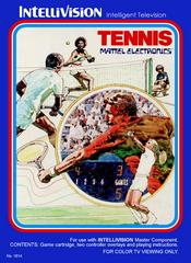 Front Cover | Tennis Intellivision