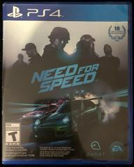 Case Front | Need for Speed Playstation 4