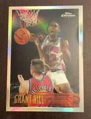 Grant Hill [Refractor] Basketball Cards 1996 Topps Chrome Prices
