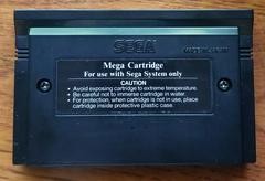 Cartridge Back | Ghouls N Ghosts Sega Master System
