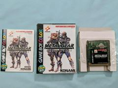 Full Box And Contents | Metal Gear: Ghost Babel JP GameBoy Color