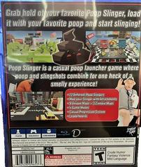 Back Of Case | Poop Slinger Playstation 4