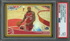 LeBron James [Gold Refractor] Basketball Cards 2009 Topps Chrome Prices