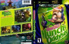 Full Cover   Oddworld Munch's Oddysee Xbox