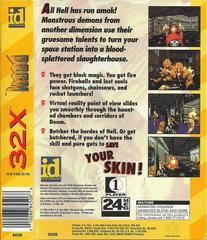 Doom - Back | Doom Sega 32X