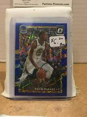Kevin Durant [Blue] Basketball Cards 2017 Panini Donruss Optic Prices