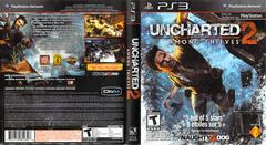 Slip Cover Scan By Canadian Brick Cafe   Uncharted 2: Among Thieves Playstation 3