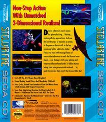 Stellar-Fire - Back | Stellar Fire Sega CD