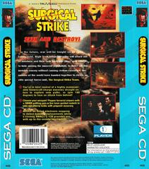 Back Of Case | Surgical Strike Sega CD
