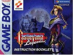 Castlevania Legends - Manual | Castlevania Legends GameBoy