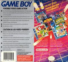 Back Cover | Original Gameboy System GameBoy