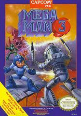 Front Cover | Mega Man 3 NES
