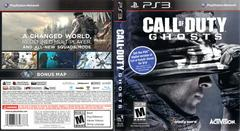 Slip Cover Scan By Canadian Brick Cafe | Call of Duty Ghosts Playstation 3