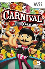 Manual - Front   Carnival Games Wii