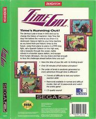 Time Gal - Back | Time Gal Sega CD