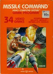 Front Cover | Missile Command Atari 2600