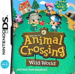 Manual - Front | Animal Crossing Wild World Nintendo DS