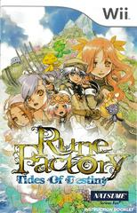 Manual - Front | Rune Factory: Tides of Destiny Wii