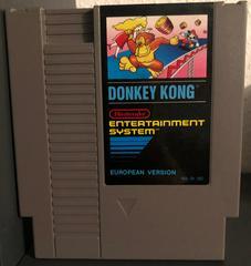 Cartridge Front   Donkey Kong PAL NES