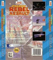 Star Wars Rebel Assault - Back | Star Wars Rebel Assault Sega CD