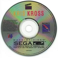 Kris Kross: Make My Video - Disc | Kris Kross: Make My Video Sega CD