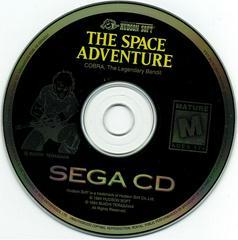 The Space Adventure - Disc | The Space Adventure Sega CD