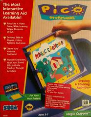 Magic Crayons Sega Pico Prices