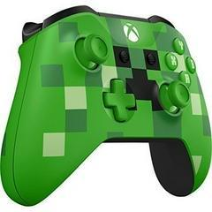 Front Left | Xbox One Minecraft Creeper Wireless Controller Xbox One