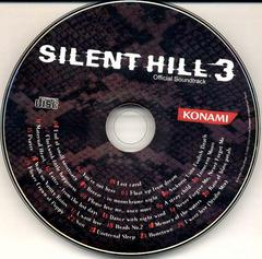 Soundtrack Disc   Silent Hill 3 Playstation 2