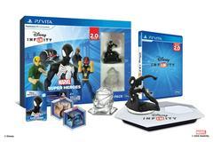Disney Infinity 2.0 Vita Starter Pack | Black Suit Spiderman - 3.0 Disney Infinity