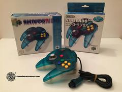 Nintendo 64 Clear White & Blue Controller JP Nintendo 64 Prices