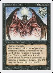 Lord of the Pit Magic Revised Prices