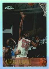 Adrian Caldwell [Refractor] Basketball Cards 1996 Topps Chrome Prices