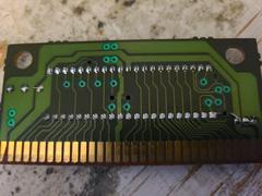Circuit Board (Reverse) | Aladdin Sega Genesis