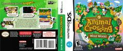 Artwork - Back, Front | Animal Crossing Wild World Nintendo DS