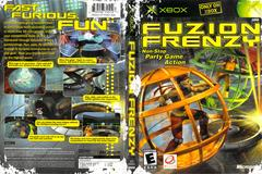 Slip Cover Scan By Canadian Brick Cafe | Fuzion Frenzy Xbox