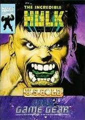 The Incredible Hulk PAL Sega Game Gear Prices