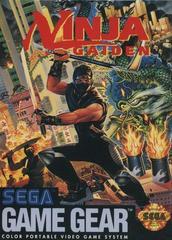 Front Cover | Ninja Gaiden Sega Game Gear