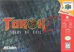 Front Cover | Turok 2 Seeds of Evil Nintendo 64