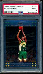 Kevin Durant Basketball Cards 2007 Topps Chrome Prices