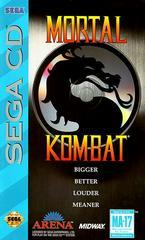 Mortal Kombat - Front / Manual   Mortal Kombat Sega CD