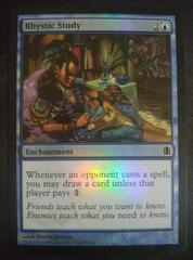 Rhystic Study Magic Commanders Arsenal Prices