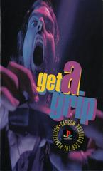 Playstation Get A Grip Ad   Resident Evil [Long Box] Playstation