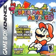Front Cover   Super Mario Advance GameBoy Advance