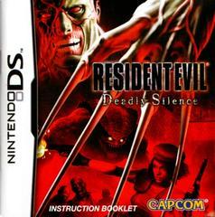 Manual | Resident Evil Deadly Silence Nintendo DS