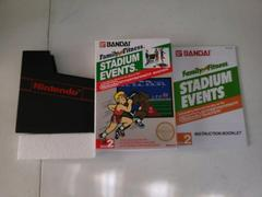 BOX And Manual   Family Fun Fitness Stadium Events NES