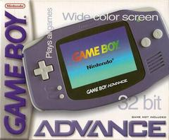 Front Cover   Glacier Gameboy Advance System GameBoy Advance