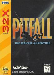 Pitfall: Mayan Adventure - Front | Pitfall Mayan Adventure Sega 32X