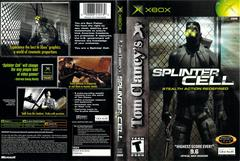 Slip Cover Scan By Canadian Brick Cafe | Splinter Cell Xbox